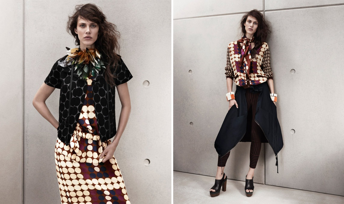 Marni for H&M Women's & Men's Lookbook | The Fashion Medley