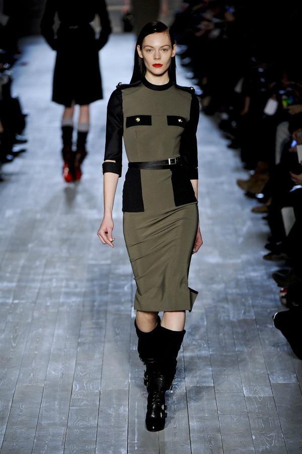victoria-beckham-fall-fashion-week-military