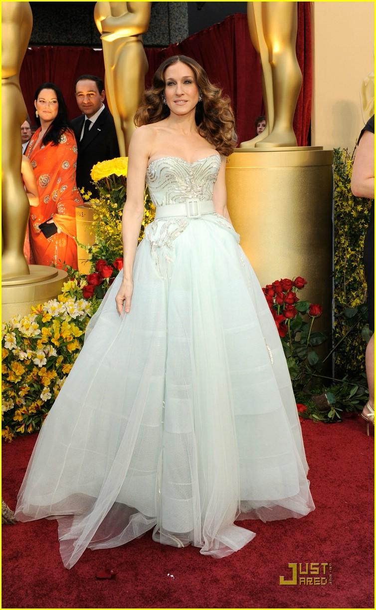 2009 sarah jessica parker dior couture