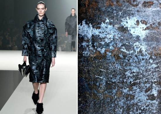 alexander wang fw 13 - corroded metal