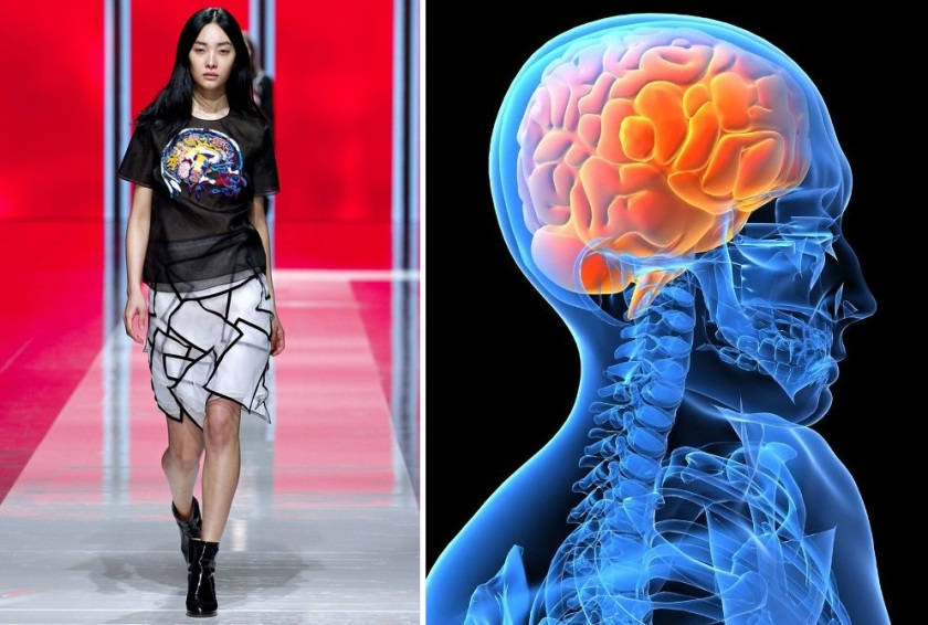 christopher kane fw 13 - the brain