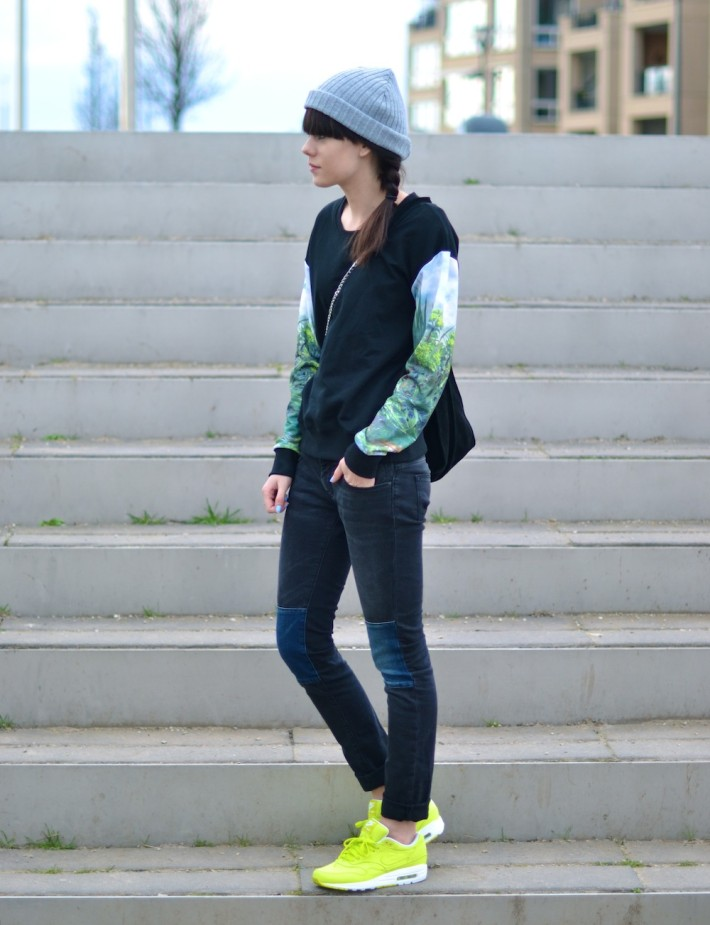 outfit-nike-air-max-1-yellow-beanie-sweater1-710x925
