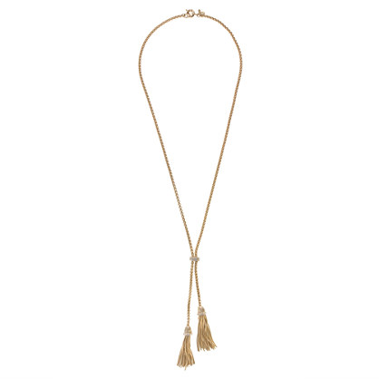 J.Crew Double-tassel necklace - $80.00