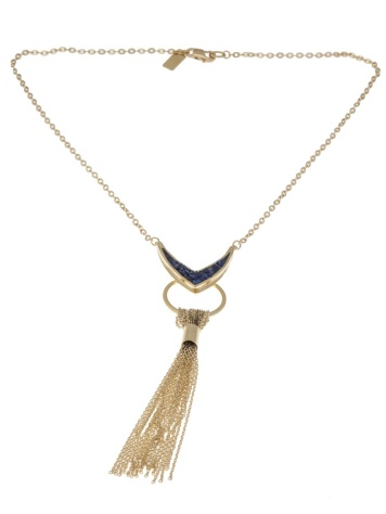 Lady Grey Vex tassel necklace - $339.25