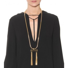 Saint Laurent DÉCO TASSEL NECKLACE - € 749.00