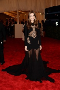 Allison Williams in Altuzarra - MET Gala 2013