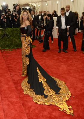 Beyonce in Givenchy - MET Gala 2013