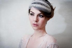Suzy O'Rourke Valentine Headband - $600