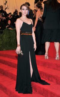 Emma Roberts in Diane Von Furstenberg - MET Gala 2013