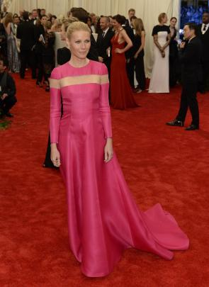 Gwyneth Paltrow in Valentino - MET Gala 2013