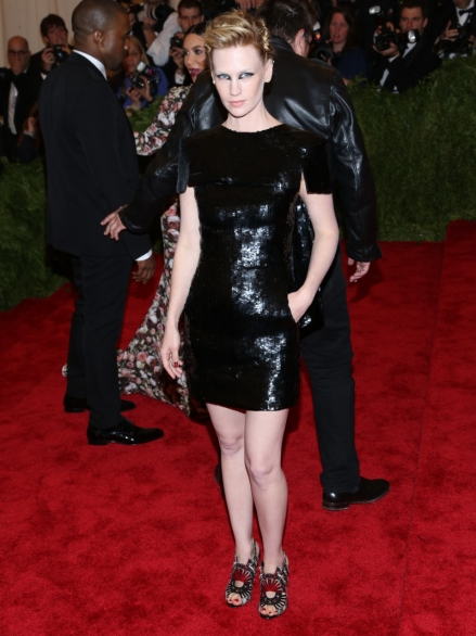 January Jones in Chanel MET Gala 2013