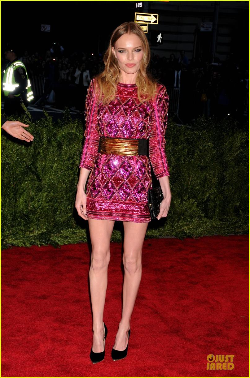 Kate Bosworth in Balmain MET Gala 2013