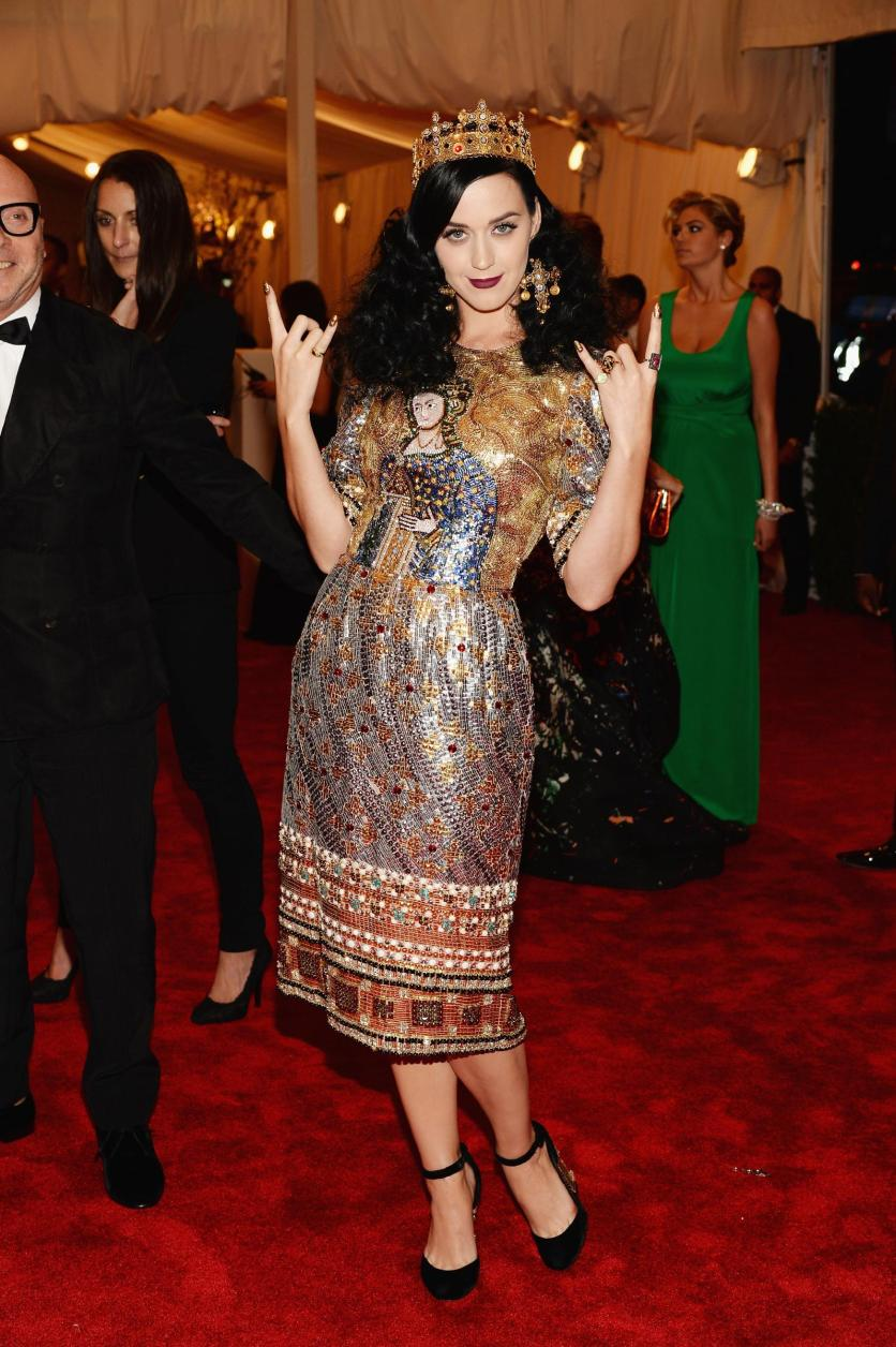 Katy Perry in Dolce&Gabbana - MET Gala 2013