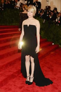 Michelle Williams in Saint Laurent - MET Gala 2013