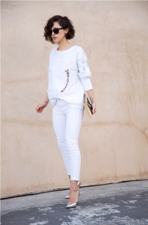 karla all white