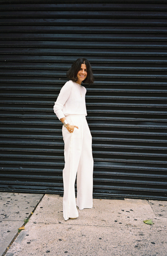 leandra medine all white