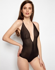 Kallisti By Marios Schwab For ASOS Inc Bardot Bodysuit