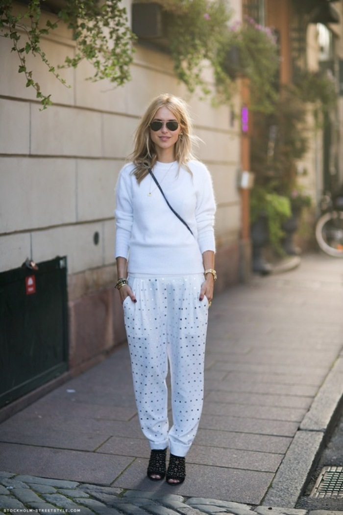 pernille all white