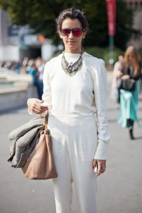 street style all white
