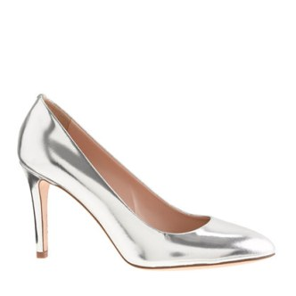 J.Crew Sloane mirror metallic pumps