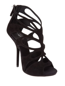 Giuseppe Zanotti Design stylised cut-out sandal