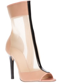 REED KRAKOFF mesh panel open toe boot