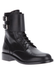 SAINT LAURENT mid calf boot