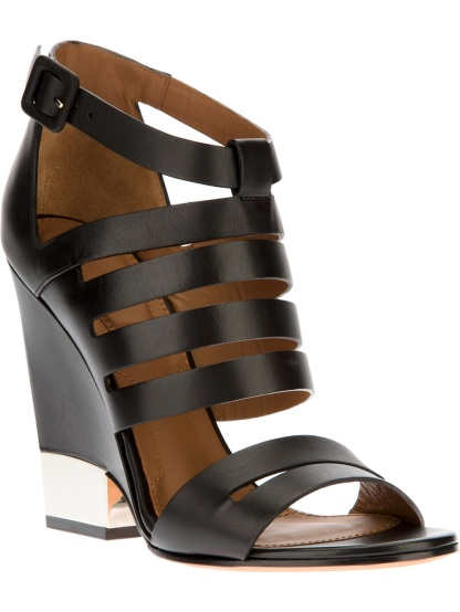 GIVENCHY strappy wedged sandal