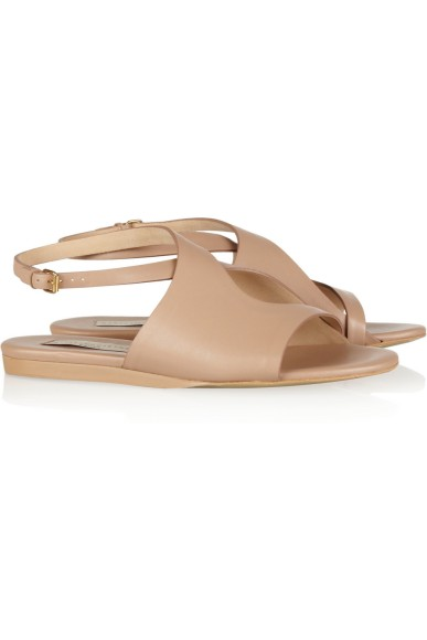 Stella McCartney Cutout faux-leather sandals