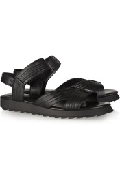 Camilla Skovgaard Textured-leather sandals