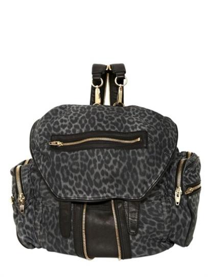 Alexander Wang Leopard Print Backpack