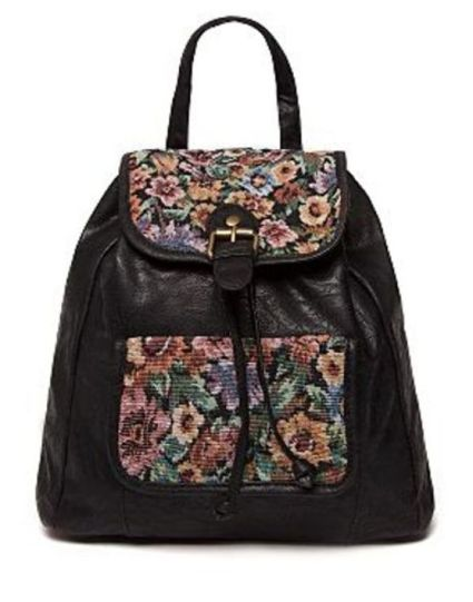 Bank Fashion Mini Floral Backpack