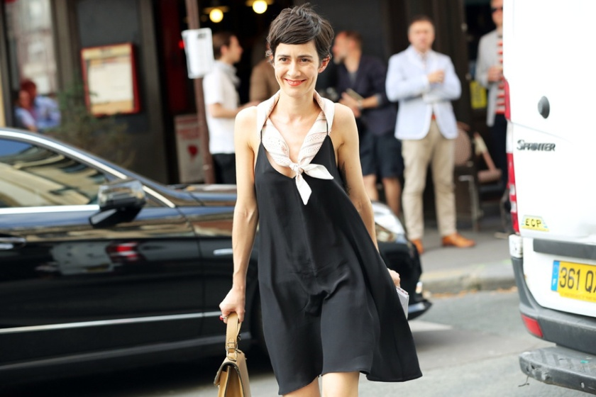 black slip dress (2)