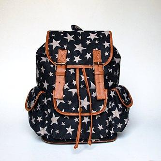 Gray Star Backpack