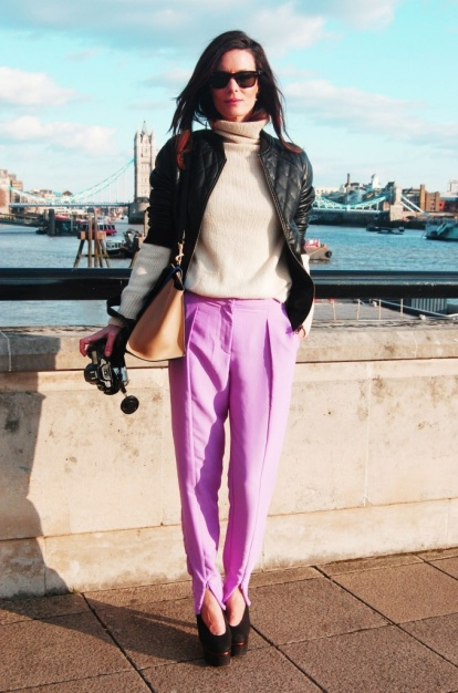 hedvig pink trousers