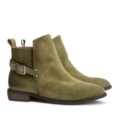 H&M Suede jodhpur boots