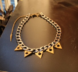 Ritual Triangle Collar Necklace