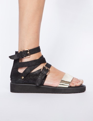 Pixie Market Vanity buckled sandals