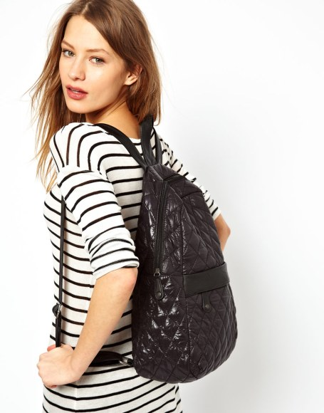 Pieces Quilted Backpack