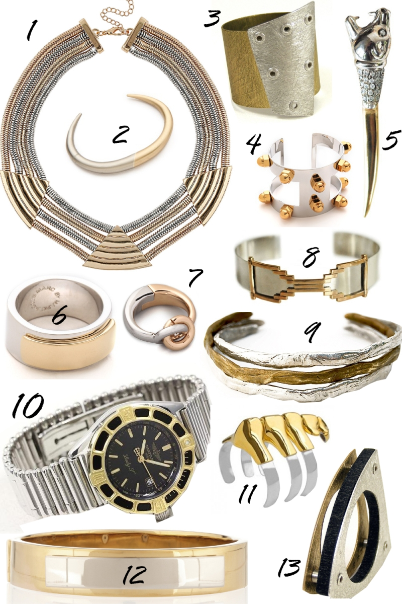The Fashion Medley | Gold + Silver