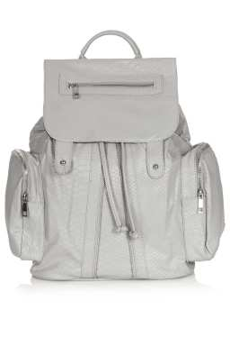 Topshop Snake Backpack