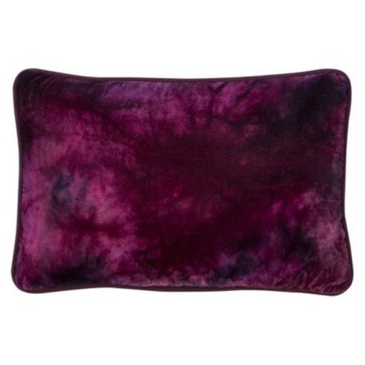 Target Threshold Purple Velvet Pillow
