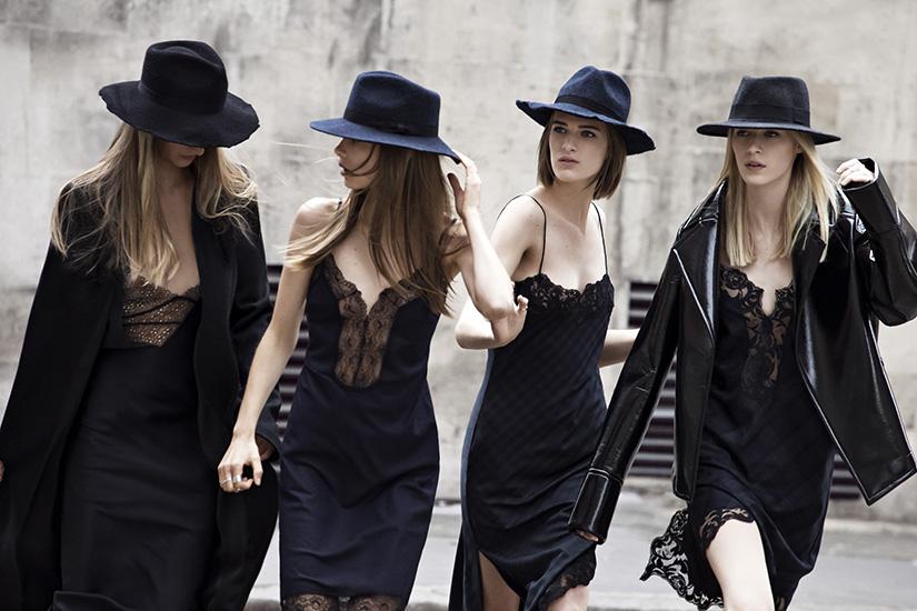 zara september 2013 slip dresses