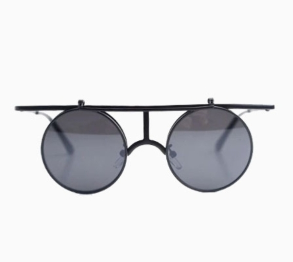 Choies Tipped Round Sunglasses