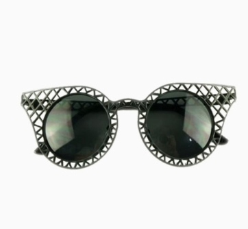 Choies Ridge Hollow Out Cat Eye Sunglasses