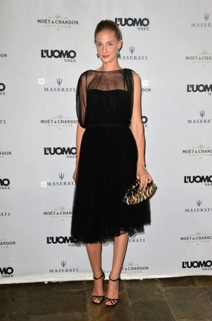 Eva Riccobono in Gucci