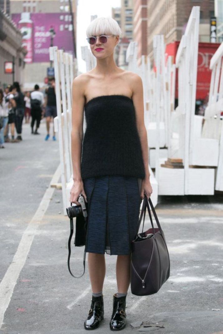 knee length skirts13