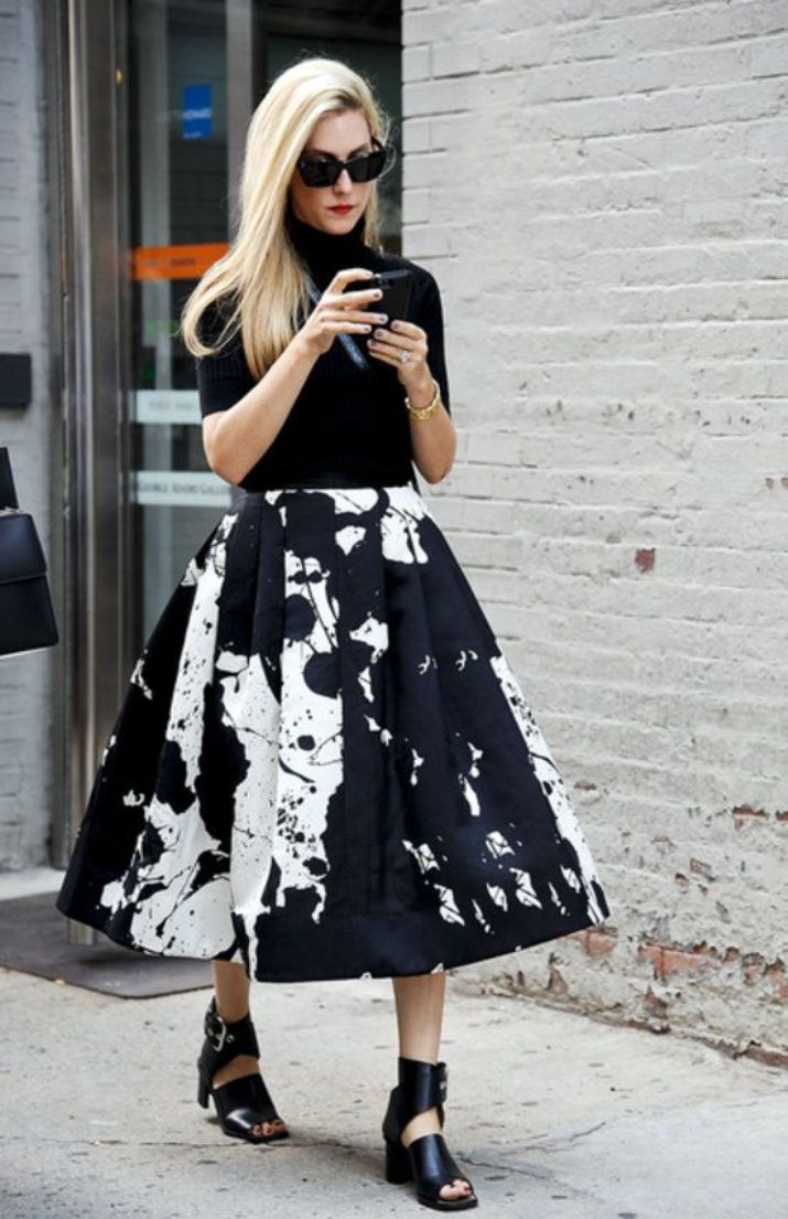 knee length skirts15