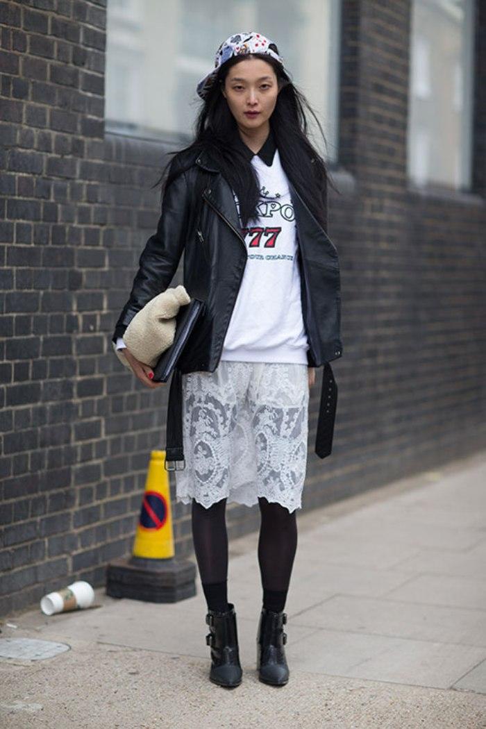 knee length skirts17