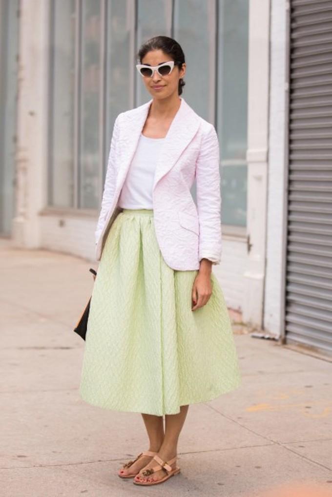 knee length skirts2